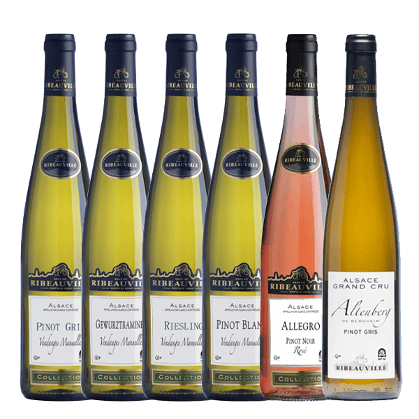 """coffret Casher """"Découverte"""" vins d'Alsace"""
