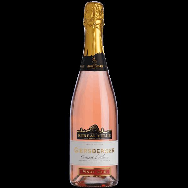 Crémant Giersberger Pinot noir Rosé Alsace