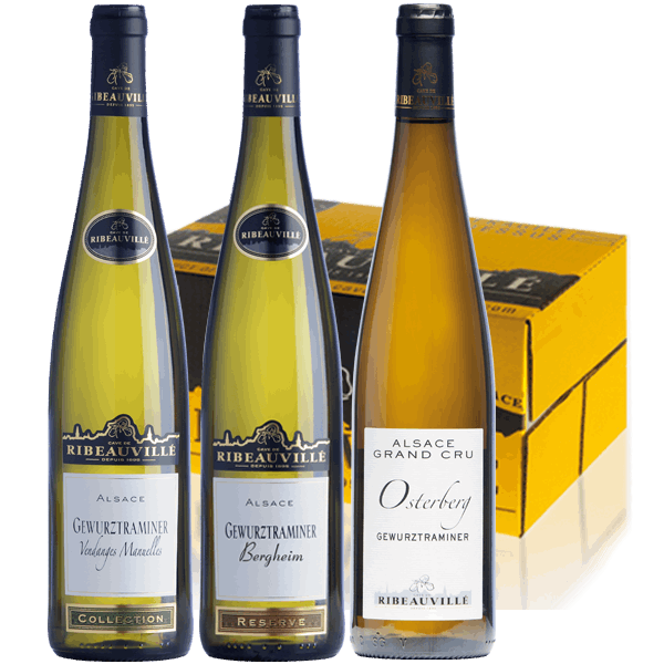 Coffret Trio Gewurztraminer découverte Alsace