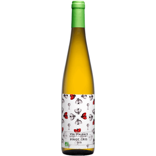 Pinot gris bio Alsace