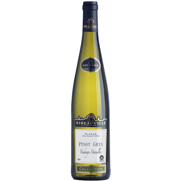 Alsace Wine - Pinot Gris handpicked Casher
