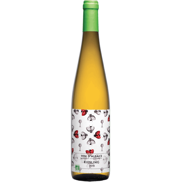 Alsace Wine - Riesling Bio