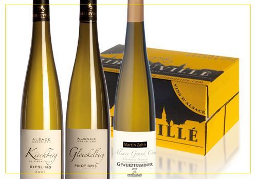 vin d'Alsace - Coffrets Découverte Cave de Ribeauvillé