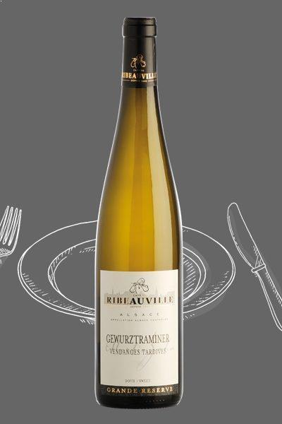 Vin d'Alsace - Vendanges Tardives - Cave de Ribeauvillé