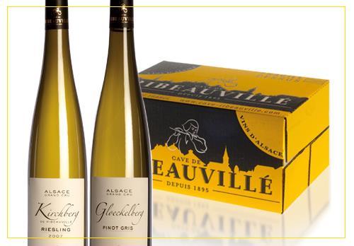 vins et crémants d'Alsace - Coffrets Découverte - Cave de Ribeauvillé