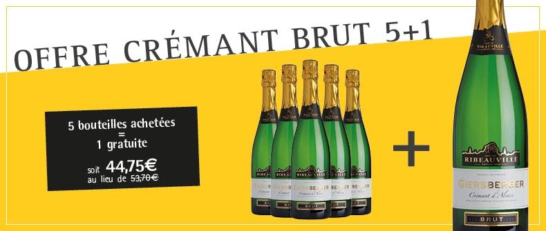Promo Crémant Brut