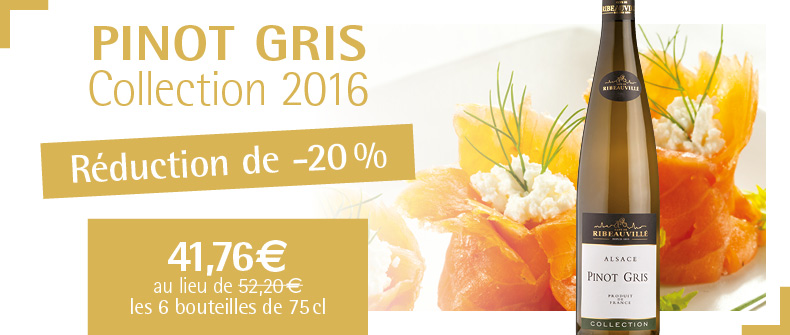 Pinot Gris Collection 2016 à -20%» width=