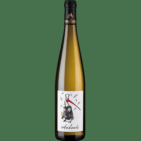 Andante Blanc - Vins d'Alsace - Cave de Ribeauvillé