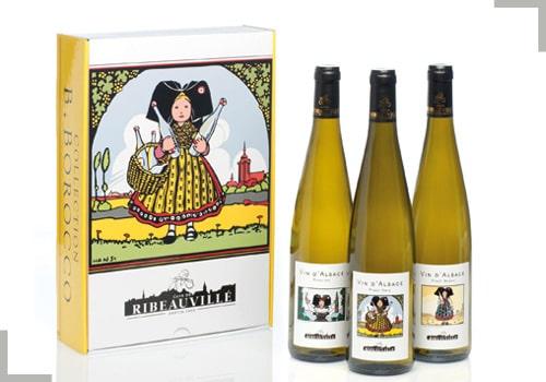 Nos Coffrets Vins d'Alsace