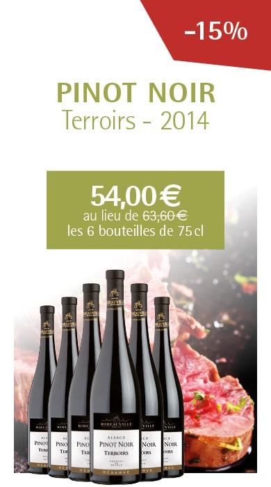Offre Pinot Noir - Cave de Ribeauvillé