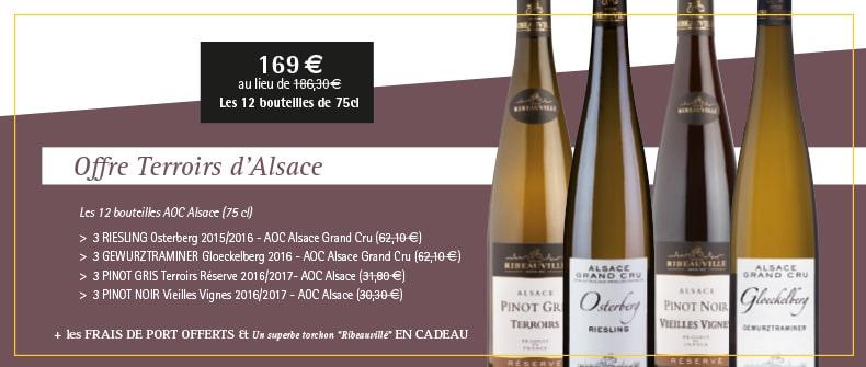 Offre Terroirs d'Alsace