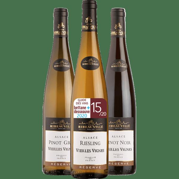 Offre 3 Vins Vieilles Vignes