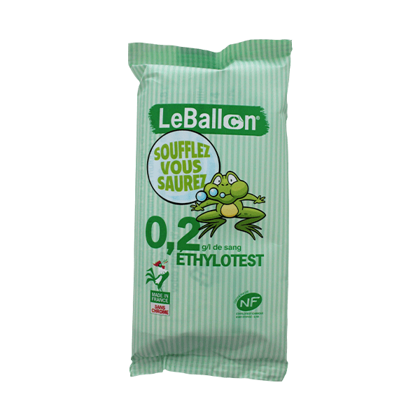 Ethylotest 0,2 g/l